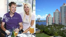 Grossová po smrti manžela řeší finanční potíže: Byt v Miami bude muset prodat