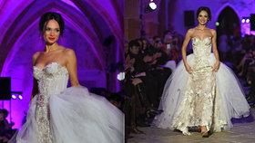 Noidova Gábinka se ještě nerozvedla a už si zkouší svatební šaty