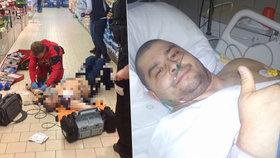 Boj o život strážníka v Hradci: 12 minut v klinické smrti! Ještě týž den děkoval zachráncům