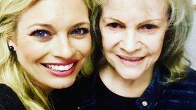 Celebrity na síti: Borhyová s legendou a Šeredová na dovolené