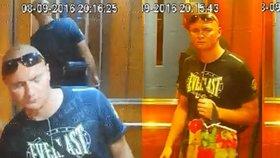 Muž ukradl v Praze 8 z výtahu čtyři kamery. Policie žádá lidi o pomoc