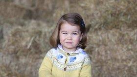 Princezna Charlotte slaví 2. narozeniny: Takhle ji vyfotila maminka!
