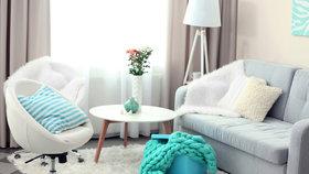 7 tipů, jak prakticky zařídit malý obývací pokoj, aby se opticky zvětšil