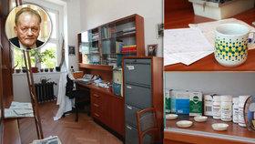 Na den otevírají pracovnu dr. Holého. Vyvinul léky proti AIDS či neštovicím