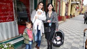 Křížková a Kalivodová po porodu: Prozradily, jak zhubnout