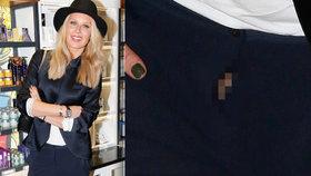 Smolařka Krainová: Kalhoty jí ruply v rozkroku a ukázala poněkud příliš!