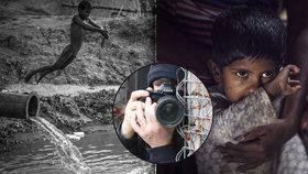 Takhle žijí lidé v Bangladéši: V Holešovicích vystavuje Fotograf bez jména