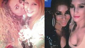 Intimní fotky rozvádějící se Mel B: Polibky s chůvou, víno a těsná objetí