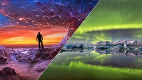 Země ohně a ledu: Island láká na drsnou přírodu, polární záři i dechberoucí výhledy!