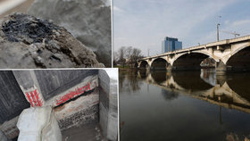 Nejistý osud Libeňského mostu: Jeho pilíře ohrožuje koroze i rozhodování památkářů