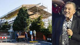 Gottova slavná vila k nepoznání: Paní domu přestavuje Bertramku