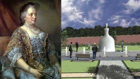 Pomník Marie Terezie vznikne v Dejvicích do dvou let. Měřit bude přes pět metrů