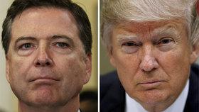 Trump si tajně nahrával odvolaného šéfa FBI, naznačil svojí hrozbou