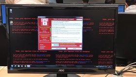 Masivní kyberútok se dotkl i Česka. Zasáhl asi 370 počítačů
