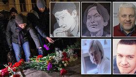 Zeman s Putinem žertoval o likvidaci novinářů. Tyhle v Rusku vážně zabili