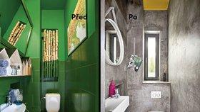 Proměna koupelny: Netradiční nátěr zdí! Jak se vám líbí?