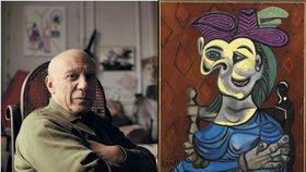 Dražil se Picasso: Tenhle obraz se prodal za miliardu!