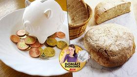 Kilo domácího chleba za 12 korun? Expertka radí, jak ho upéct