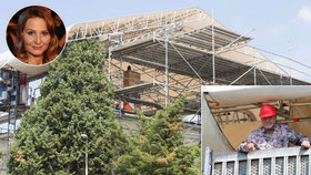 Gottovi opravuje střechu vily firma specializující se na záchodky! Našla ji Ivana