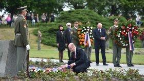 Sobotka v Terezíně: Štvaní národů proti sobě je nebezpečné, vede k válce