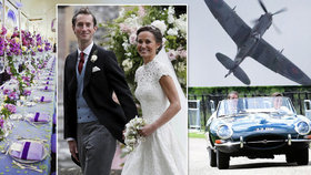 Jak vypadal účet za svatbu Pippy a jejího miliardáře? Dort za 600 tis., kaviár za milion!