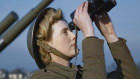 Tohle jen tak neuvidíte: Unikátní barevné fotografie z dob druhé světové války