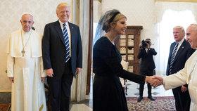 Donald Trump navštívil papeže: Nepochopil jeho konverzaci s první dámou