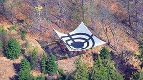 Aktivisté obsadili místo pro radar