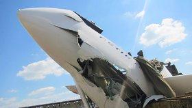 Na Benešovsku havarovalo letadlo: Pilot ultralightu skončil v nemocnici