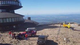 Češka (†47) nepřežila výstup na Sněžku. Zemřela 200 metrů pod vrcholem