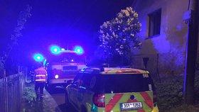 Tragédie v Chotči u Prahy: Na muže se zřítil balkon, na místě zemřel