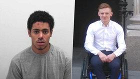 Nadějného fotbalistu bodnul opilec: Dan (24) zůstal paralyzovaný, útočník dostal 10 let