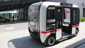 V Berlíně svezl cestující samořídící autobus. Olli vypadá jako kabinka lanovky