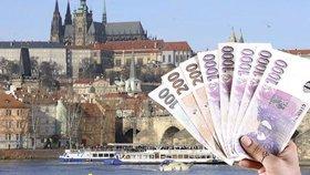 Přes 77 miliard korun: Výdaje Prahy na příští rok o 18 miliard převýší příjmy