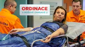 Vážná otrava v Ordinaci: Martina Randová alias Heluš doplatí na ústřice!