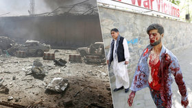 Po explozi 80 mrtvých a stovky zraněných. Výbuch zasáhl i českou ambasádu