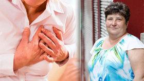 Blance (55) fungovalo srdce jen na 34 %: Varovné příznaky nemoci ignorovala