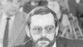 První nekomunistický primátor Prahy zemřel: Jaroslavu Kořánovi bylo 77 let