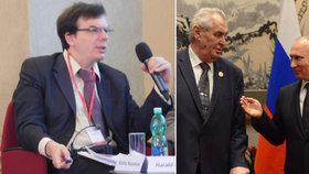 Češi chápou Rusy lépe. Hrozí konflikt se Západem, řekl v Praze expert z Moskvy