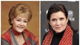 V USA se bude dražit pozůstalost princezny Leiy Carrie Fisher a její matky Debbie Reynolds