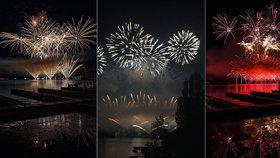 Brno vzhůru nohama: Magický ohňostroj Jack Sparrow si na přehradě nenechalo ujít 190 tisíc diváků!