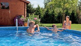 Soutěž: Nejrychlejší cesta k vodě? Bazén na vlastní zahradě