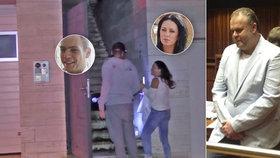 Krejčířův syn a manželka se ukázali u stamilionové vily: Čím se živí?