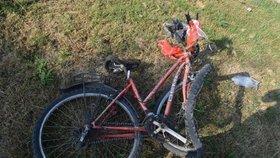 Záchranáři zasahovali u úrazu cyklistky: Kvůli roušce se jí zamlžily brýle