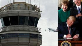 Trump předá řízení letového provozu soukromníkům. Slibuje revoluci v létání