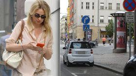 Pro slavné herečky dopravní předpisy neplatí? Chýlková parkovala jako pirát