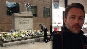 Teror v Londýně má osm obětí. Policisté vytáhli z Temže pohřešovaného Francouze