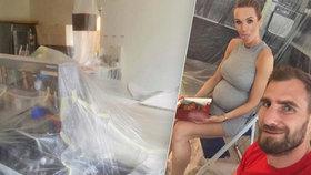 Mašlíková se před porodem vrhla na úklid: Zdravé jídlo vyměnila za fast food!