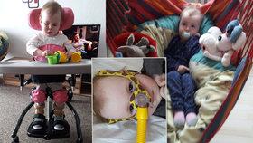 Malou Viktorku má zachránit léčba za milion. Matka: Zoufalství a bezmoc