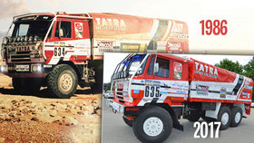 Třicetiletou tatrovku z Dakaru opravili, je z ní kráska: V Africe vozila turisty